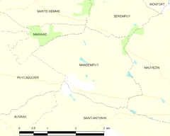 Map commune FR insee code 32229.png