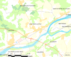 Map commune FR insee code 37077.png
