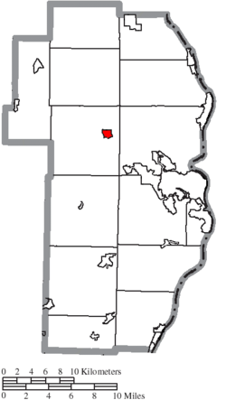 Location of Richmond in Jefferson County