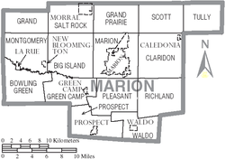 Map of Marion County Ohio With Municipal and Township Labels.PNG