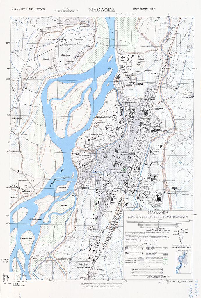 FileMap Of Nagaoka Niigata Prefecture Japan By US Army Map - Us army travel map