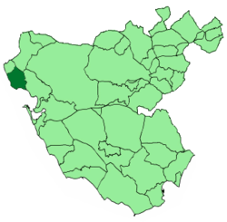 Location of Rota