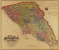 Map of Sonoma County, California - showing new boundary lines of county and townships, private claims and ranches, government townships and section lines, rail roads and public roads, water works, LOC 2009582416.jpg