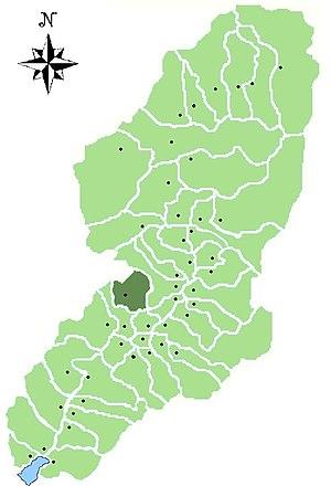 Lozio - Location of Lozio in Val Camonica