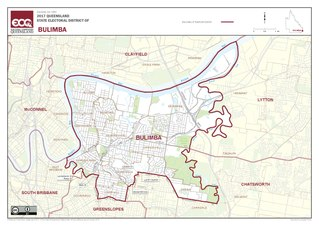 Electoral district of Bulimba state electoral district of Queensland, Australia
