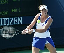 María José Martínez Sánchez at the 2010 US Open 02.jpg