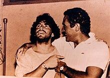Diego Armando Maradona e Gianni Di Marzio