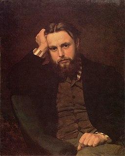 Marceli Krajewski Portret Mieczysława Paszkowskiego 1869