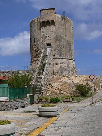Republic of Pisa - Image: Marciana Marina Pisanischer Wachtturm 1