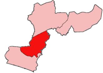Firestone District - Location of Firestone District in Margibi County