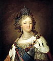 Maria Fedorovna by Borovikovsky (18 c, Astrakhan museum).jpg