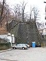 Marianske hradby v Praze z ulice Rosickych.jpg