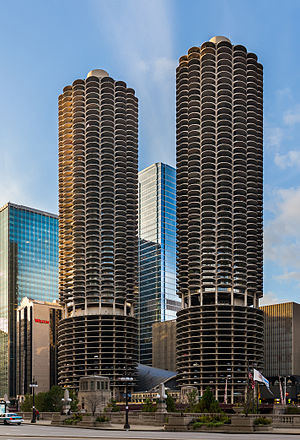 Bertrand Goldberg - Marina City, Chicago