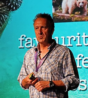 Mark Carwardine Conservationist, presenter, and writer