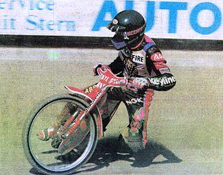 Mark Loram British speedway rider