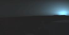 Alba marziana ripresa dal Viking 1