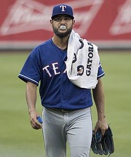 Martín Pérez (baseball) Venezuelan baseball player
