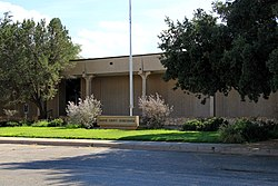 The Martin County Courthouse in Stanton