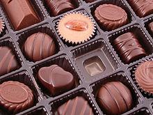 Una scatola di cioccolatini