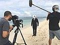 Maschinenmenschen Video dreh auf Cayman Island (Foto von Stefan Langenberger 04.01.2018).jpg