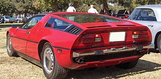 Maserati Bora - Rear view