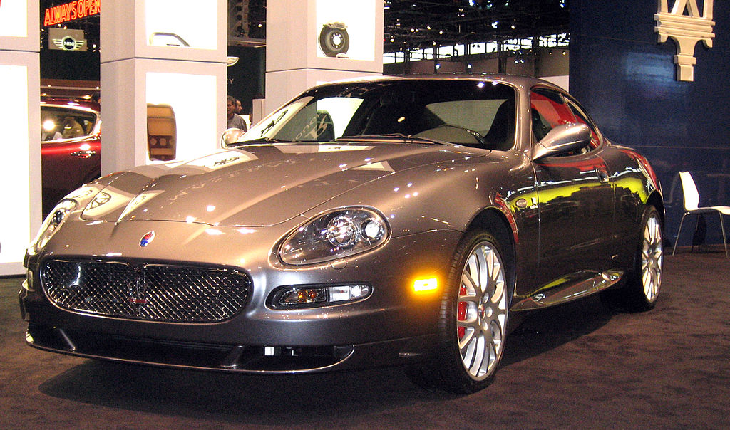 file maserati gransport at 2006 chicago auto wikimedia commons. Black Bedroom Furniture Sets. Home Design Ideas