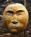 Mask, Point Hope, Alaska, wood, No. 1946.46.0025 - Etnografiska museet - Stockholm, Sweden - DSC01315.JPG