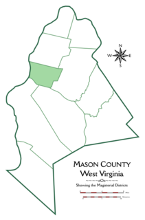 Lewis District, Mason County, West Virginia Magisterial district in West Virginia, United States