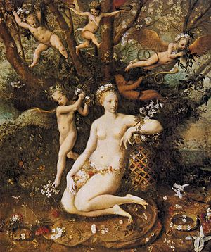 Master Of Flora - The Triumph of Flora - WGA14441