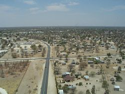 Maun from the air