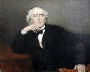 Bildnis des Archäologen Ernst Curtius