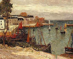 Maxime Maufra - The Port of Sauzon-Belle-Isle-en-Mer
