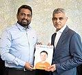 Mayor of London with Launching British Herald Magazine.jpg