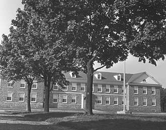 Germantown Academy - A view of McLean Hall shortly after its construction in 1965