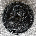 Medaglione di probo, 276-282 ca, recto con imperatore e sole.JPG