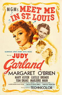 <i>Meet Me in St. Louis</i> 1944 American musical film by Vincente Minnelli