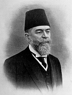 Mehmed Ferid Pasha Ottoman politician and Grand Vizier