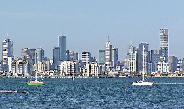 Melbourne, the state capital, is home to more than three in four Victorians. Melbourne skyline.jpg