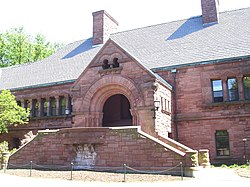 Memorial Hall, Lawrenceville School (Lawrenceville, NJ).JPG