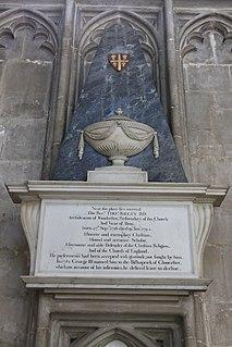 Thomas Balguy British priest