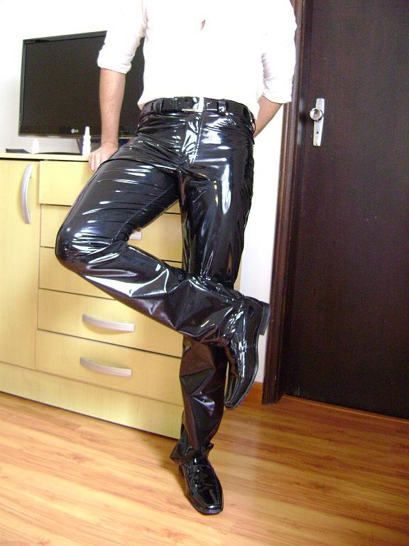 File Men S Black Pvc Pants 04 Jpg Wikimedia Commons