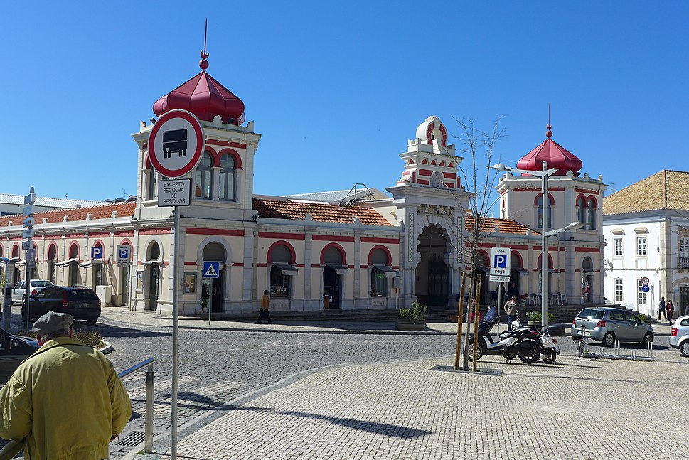 Mercado Municipal de Loulé, Algarve, Portugal