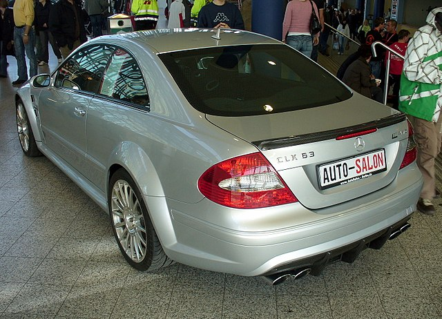 Mercedes-Benz CLK 63 AMG Black Series (C209)