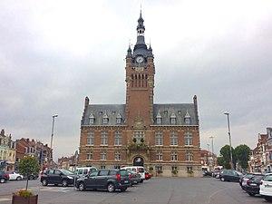 Merville, Nord - Image: Merville town hall