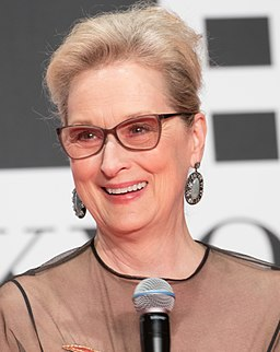 Meryl Streep at the Tokyo International Film Festival 2016 (32801846044) (cropped)