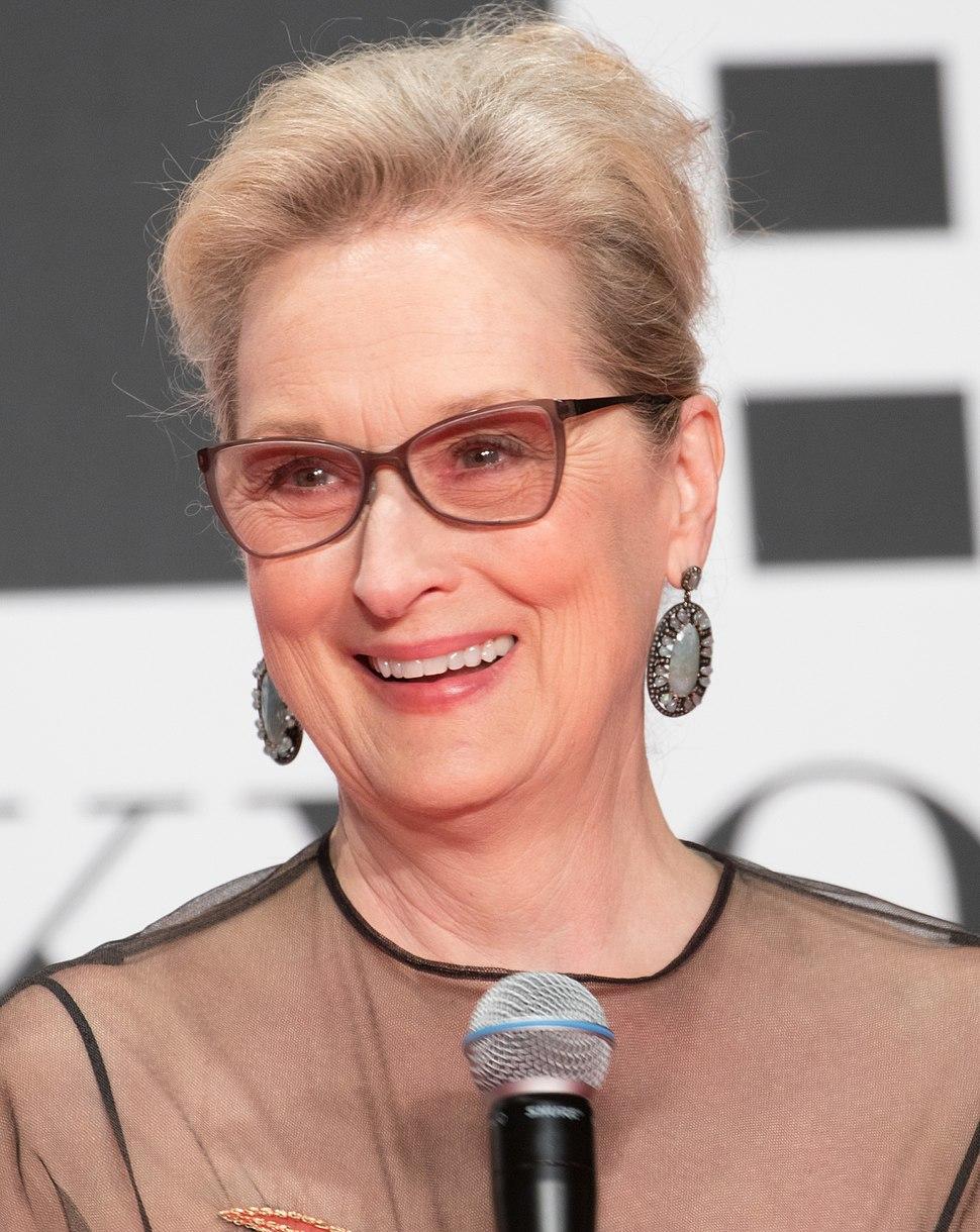 Meryl Streep at the Tokyo International Film Festival 2016 (32801846044) (cropped)