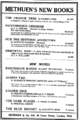 Methuen Books ad - The Times - 18 June 1926.png