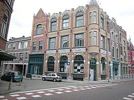 Metropole-complex met links de Noord-Binnensingel