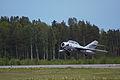 MiG-15 taking off (18423620599).jpg