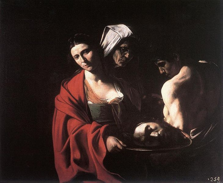 File:Michelangelo Merisi da Caravaggio - Salome with the Head of the Baptist - WGA04194.jpg